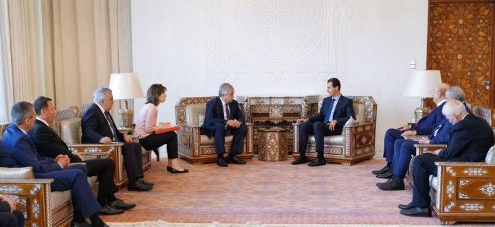 سبوتنيك: لافرينتيف قدم إلى سوريا برسائل إيجابية من السعودية
