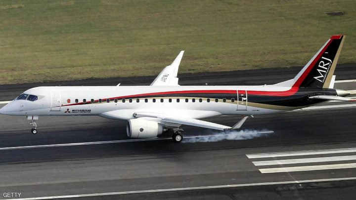 طائرة ميتسوبيشي تتحدى بوينغ وإيرباص