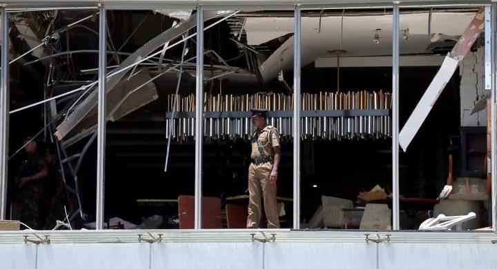 القبض على سبعة أشخاص على خلفية تفجيرات سريلانكا