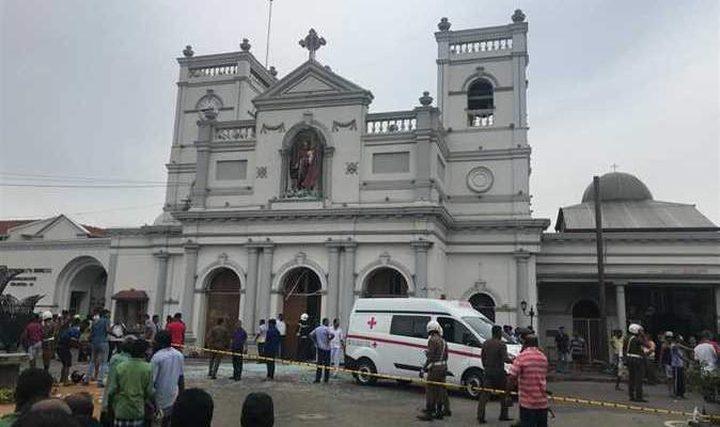 """انفجارات تهز سريلانكا صباح """"القيامة"""".. عشرات القتلى والجرحى"""