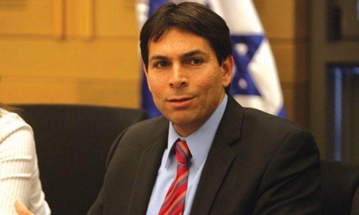 دانون:اسرائيل لن تفرض سيادتها على الضفة قبل الاعلان عن صفقة القرن