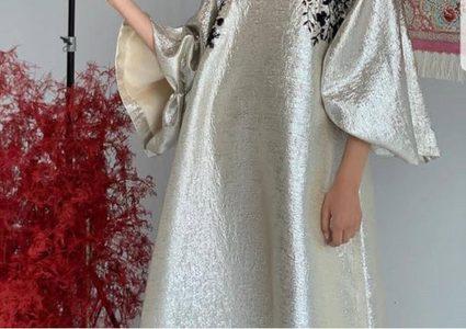 02997dcf0 موديلات عبايات ساتان ملونة تألقي بها في رمضان 2019