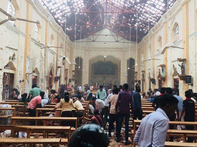 """""""الوطني"""" يدين التفجيرات الإرهابية في سريلانكا"""