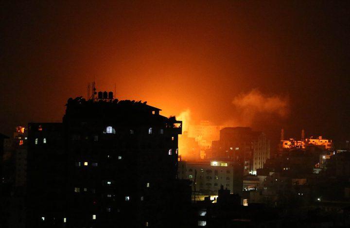 سماع دوي انفجار كبير في المستوطنات المحيطة بقطاع غزة