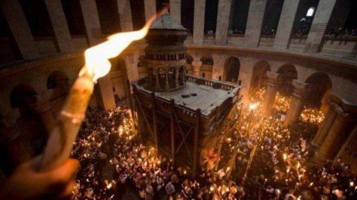 الطوائف المسيحية التي تسير حسب التقويم الغربي تحتفل بعيد الفصح