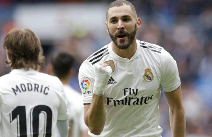 بنزيمة يحقق إنجازًا غير مسبوق في ريال مدريد