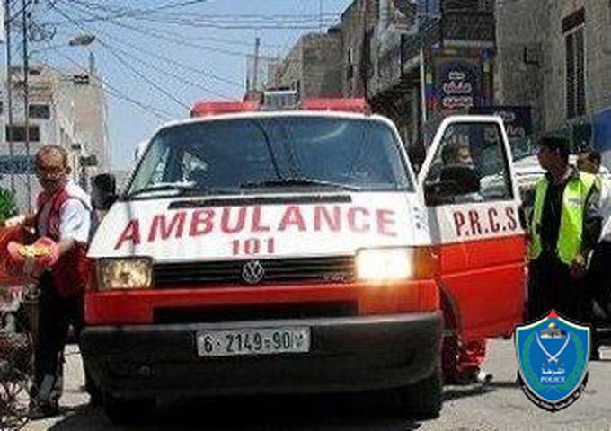 وفاة طفل عام ونصف بحادث سير في جبل الموالح