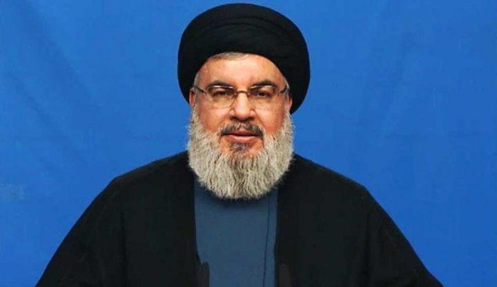 """أول تعليق من حسن نصر الله على أنباء """"موعد الحرب"""" مع إسرائيل"""