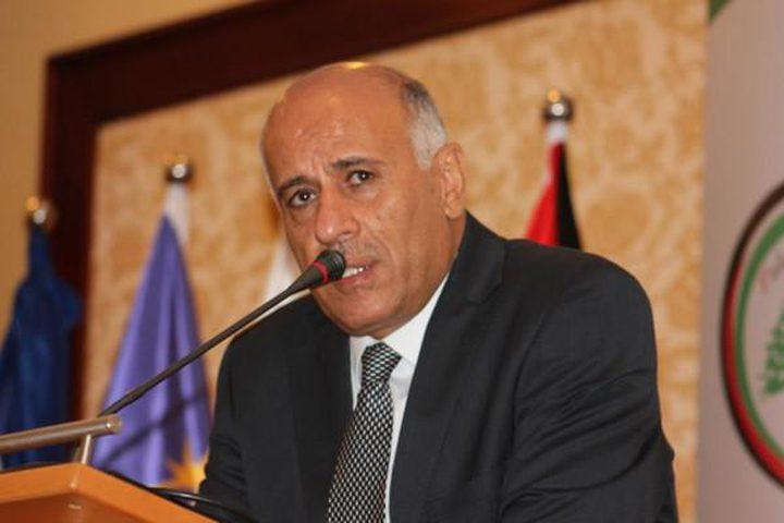 الرجوب يؤكد على دور مصر التاريخي والتزامها تجاه القضية الفلسطينية