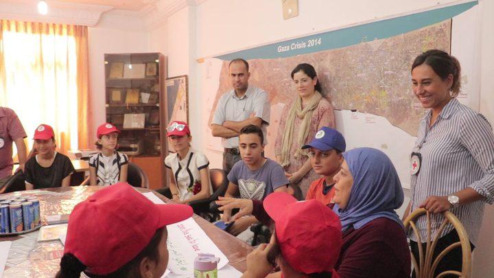 وفد طبي قطري يزور جمعية إعمار بخان يونس