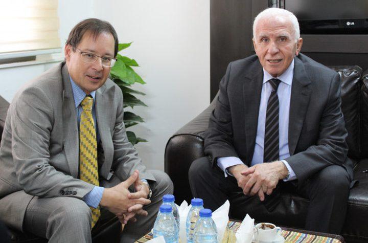 الأحمد يطلع السفير الروسي على آخر المستجدات السياسية