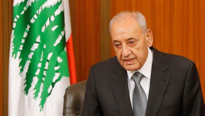 بري يبدي استعداد لبنان لترسيم الحدود البحرية بإشراف أممي