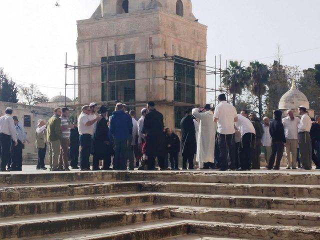 276 مستوطنا يقتحمون المسجد الأقصى