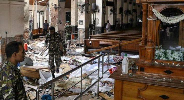 ارتفاع حصيلة ضحايا تفجيرات سريلانكا الى 359 قتيلا
