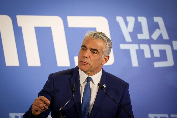 """لابيد يقدم مقترح قانون لاعتراف """"إسرائيل"""" بإبادة الأتراك للآرمن"""