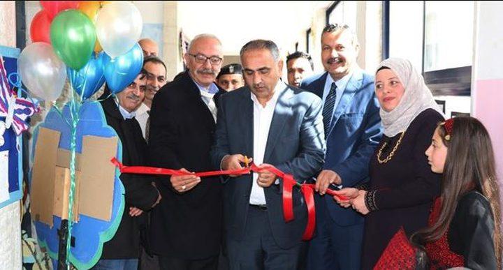 افتتاح أول غرفة حسية بمدرسة برام الله