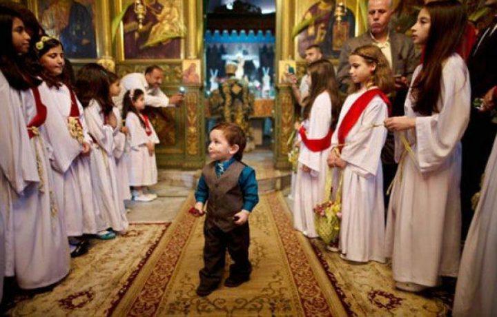 كنائس رام الله تحتفل بالخميس المقدس