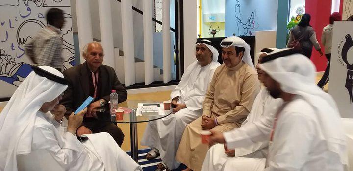 اتحاد الكتّاب والأدباء الفلسطينيين يشارك في معرض أبو ظبي للكتاب