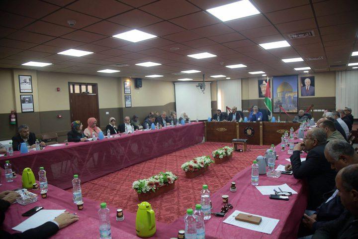طولكرم: اجتماع للمجلس التنفيذي لمتابعة توصيات اللقاء الوطني