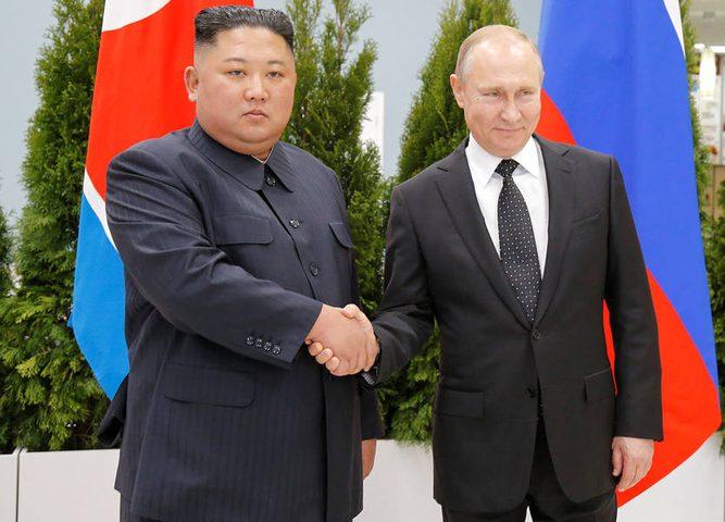 انطلاق القمة الروسية الكورية الشمالية