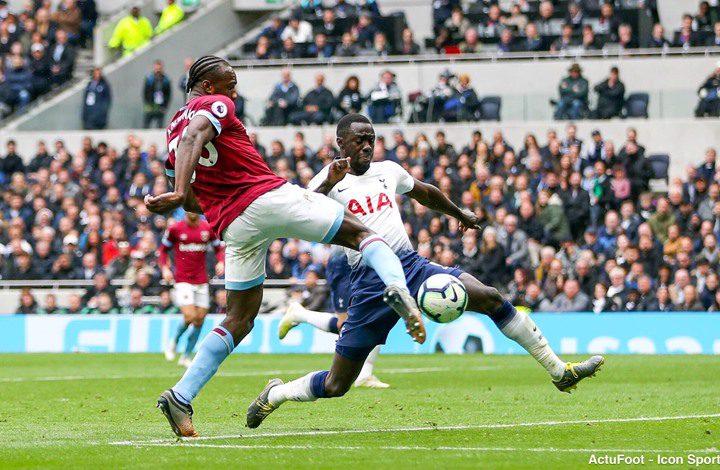 توتنهام يسقط أمام ضيفه وست هام في الدوري الإنجليزي