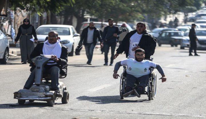 مؤسسات المعاقين في غزة تدق ناقوس الخطر