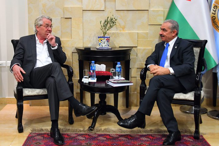 اشتية:سيتم إعادة النظر في العلاقات مع إسرائيل