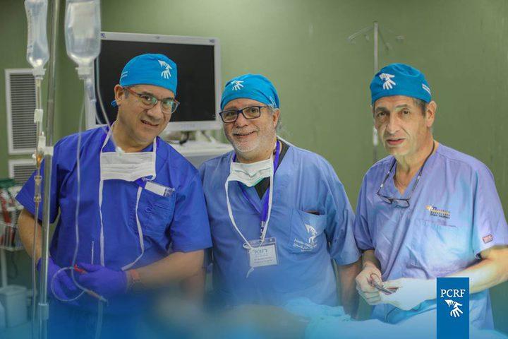 وفد تشيلي لجراحة الأطفال يصل غزة