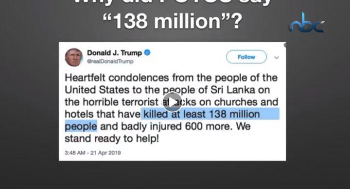 أخطاء ترامب الكارثية على تويتر