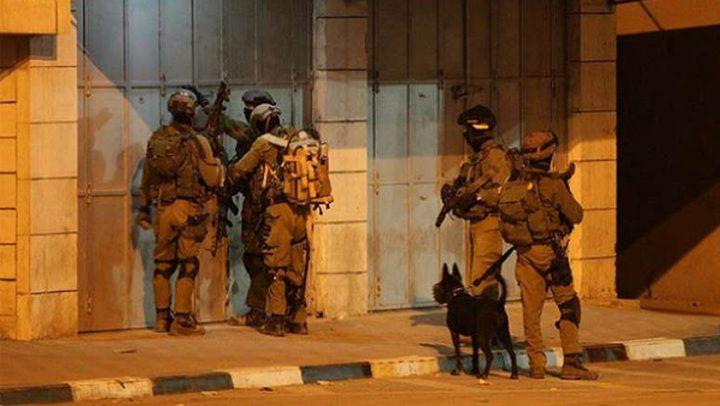 قوات الاحتلال تعتقل 14 مواطنًا