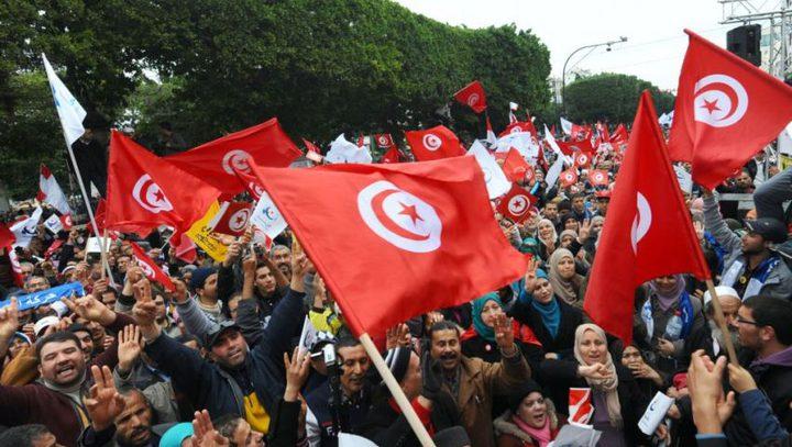 تظاهرة في تونس احتجاجاً على تردي الأوضاع المعيشية