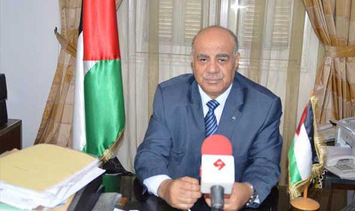 سفير فلسطين لدى فرنسا يعزي بدوق لوكسمبورج وضحايا تفجيرات سريلانكا