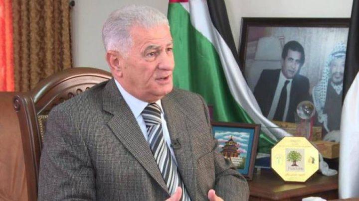 زكي يسلم رسالة من الرئيس محمود عباس إلى نظيره الموريتاني