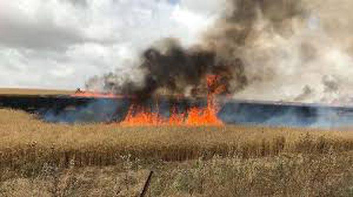 """الاحتلال يزعم اندلاع حريق في مستوطنة """"شاعر هنيغف""""المحاذية للقطاع"""
