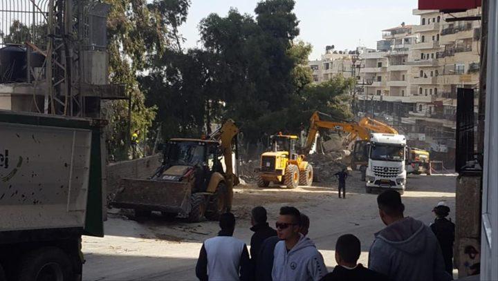 إصابات في اعتداء الاحتلال على مقدسيين تصدوا لعملية هدم منزل