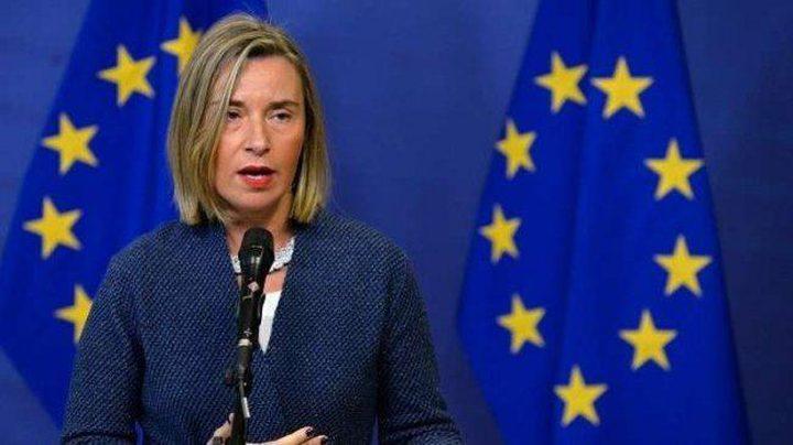 موجيريني: تعهدات بـ200 مليون يورو لدعم الاقتصاد الفلسطيني