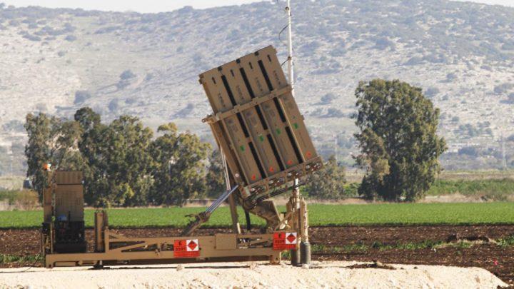 قوات الاحتلال تفعل بطاريات القبة الحديدية خشية التصعيد في الجنوب