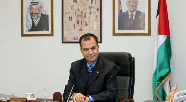 السفير أبو زيد يلقي محاضرة في الأكاديمية العسكرية الكازاخستانية