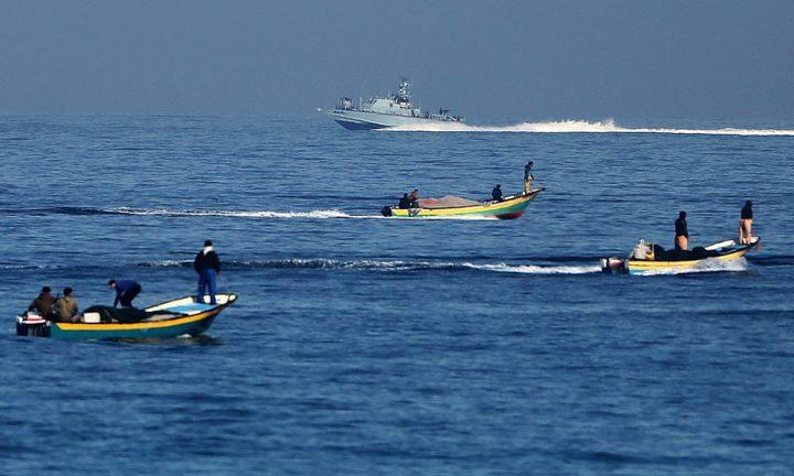 الاحتلال يقلص مساحة الصيد بغزة ل6 ميل