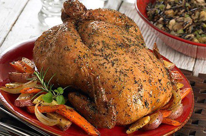دجاج متبل مشوي