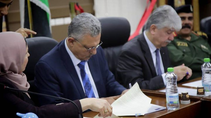 توقيع اتفاقية البوابة الموحدة للمساعدات الاجتماعية بطولكرم