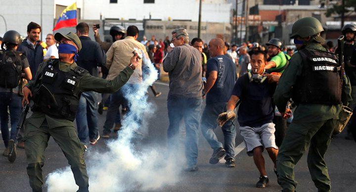 مشهد مروع لإطلاق نار في فنزويلا