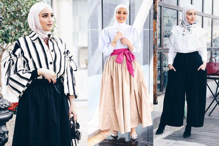"""""""صور"""" للمحجبات في رمضان ..8 موديلات بسيطة وألوانها مبهجة"""