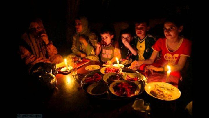 جدول الكهرباء في غزة خلال شهر رمضان