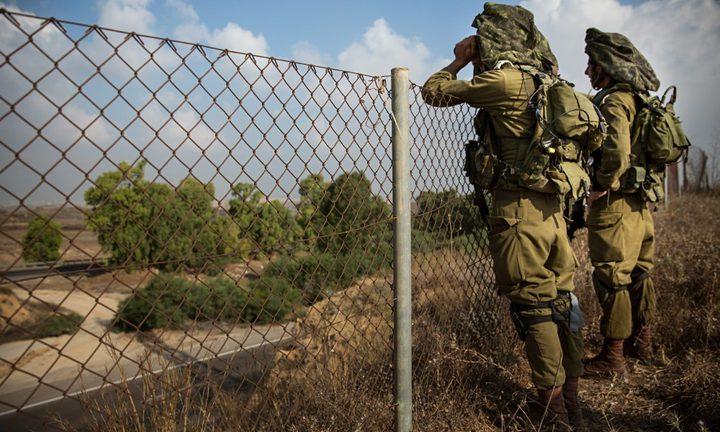 الإعلام العبري: محاولة تسلل على حدود غزة