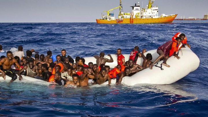 إحتجاز مهاجرين من السودان وبنغلاديش قبالة السواحل الليبية