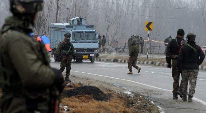 مقتل 16 من أفراد القوات الخاصة الهندية في تفجير في غرب البلاد