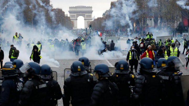مصادمات خلال تظاهرات يوم العمال في فرنسا