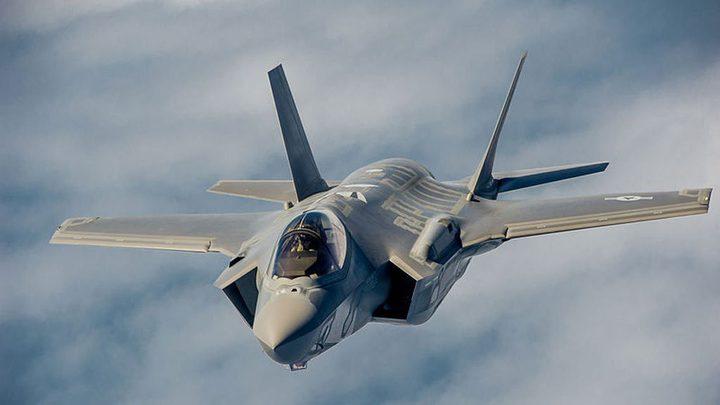الاحتلال يستعد لاستقبال طائرة إف 35 الجديدة