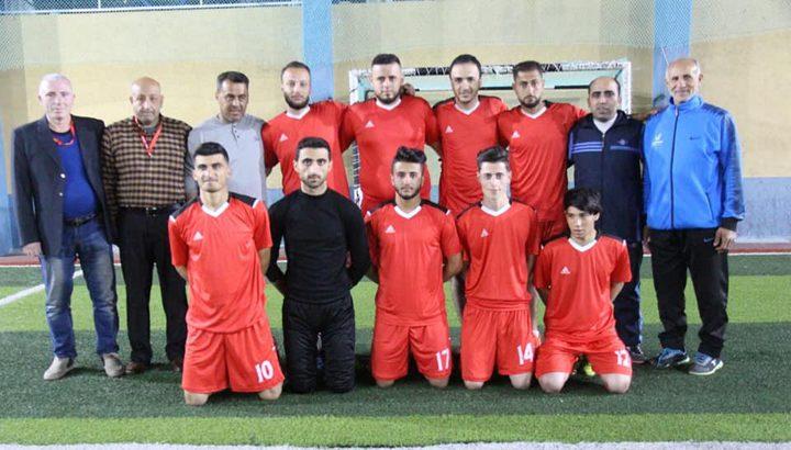 بطولة قرية برير الرمضانية الثالثة تحرز 5 انتصارات متتالية